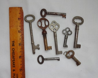 Skeleton keys  Antique 8