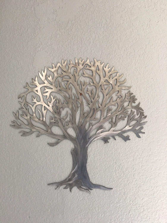 Metal Tree Stainless Steel Tree Wall Art Wall Decor