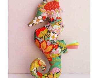 Decoration / Doudou hippocampus Jungle