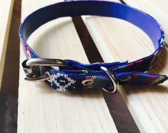 Mexican Dog Collars / Dog collars with Mexican Fabrics / Dog accessories / Dog collars