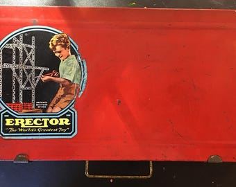 Vintage Gilbert Erector Set-1930s