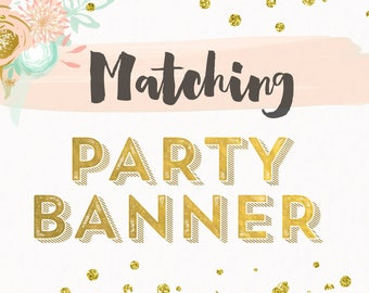 Custom Banner Made to Match any Design from Cardmint