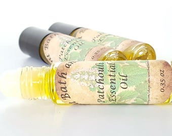 Patchouli Essential Oil, Patchouli Perfume Oil, Natural Perfume, Essential Oil Perfume, Patchouli