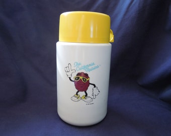 80s California Raisins Thermos