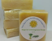 Sage and Lemongrass Soap ...