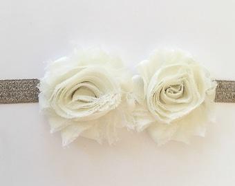 Baby headband wedding headband flower girl headband bridesmaid headband