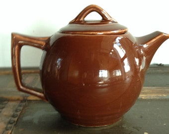 Vintage McCoy Sphere Artdeco Teaot