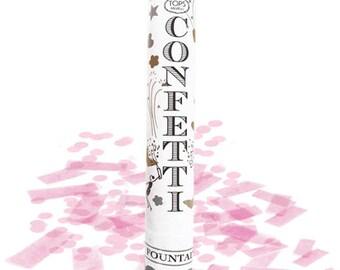 Gender Reveal Confetti Fountain, Pink confetti Fountain, Blue Confetti Fountain, Its a Boy, Its a Girl