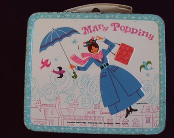 Mary Poppins lunchbox