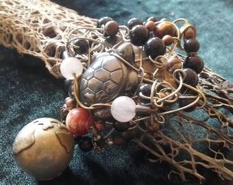 Talisman-necklace 'Peace on Earth'