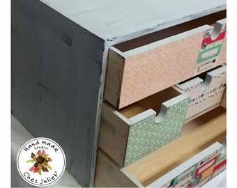 Jewellery box, Mini chest of drawers