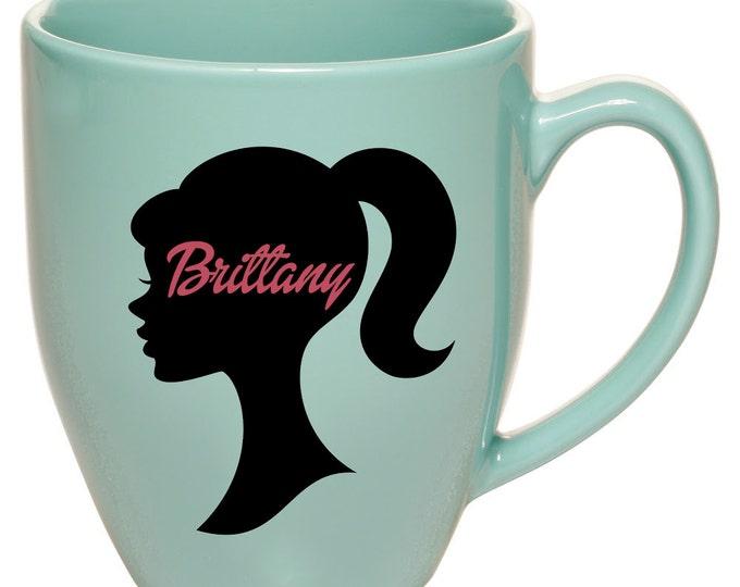 Coffee Mug, Barbie Mug, Gift Idea