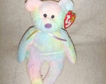 "VintageTy Beanie Bear ""Groovy""  Birthday 1/10/ 1999      #15"