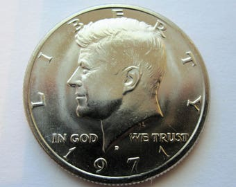1971-D Clad Kennedy Half Dollar Uncirculated