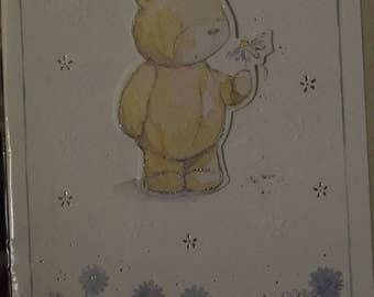 Sorry Card  with a Teddy on
