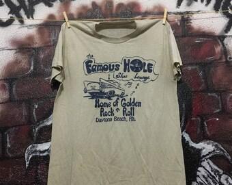 Vintage The Famous Hole Show Lounge Tshirt