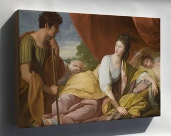 Canvas 24x36; Benjamin West - Cymon And Iphigenia