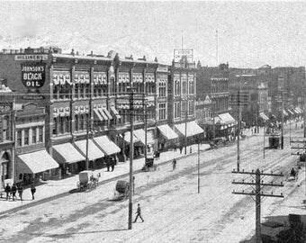 16x24 Poster; Main Street 1890 Salt Lake City Utah