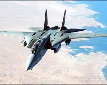 16x24 Poster; F-14 Tomcat P1