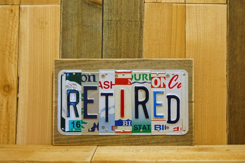 Retired Retirement Gift For Men Him Women Her Teacher