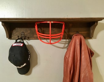 Football shelf, sports shelf, decor, kids room, son, football, athletics, hat rack, organizer
