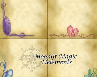 Book of Shadows Pages Crystal Pack