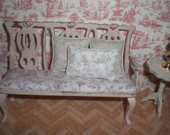 Set of pillows in beige