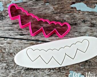 Multi Heart Banner Cutter