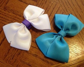 Hair Bow - French clip