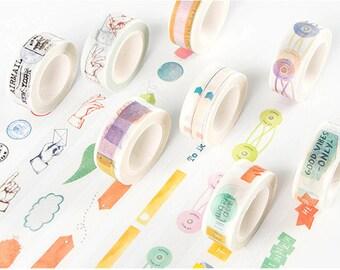 Memo Washi Tape