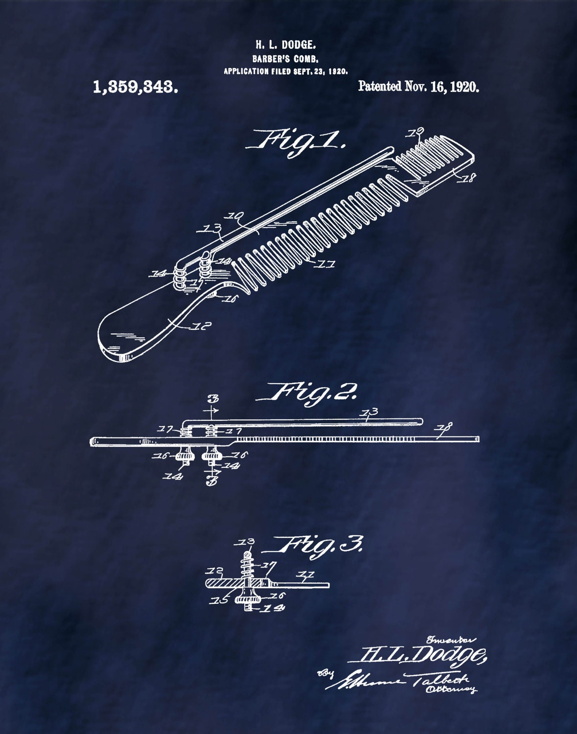 Patent 1920 barbers comb art print poster barber shop art gallery photo gallery photo gallery photo gallery photo gallery photo malvernweather Image collections