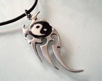 Yin yang necklace |Yin yang jewelry |