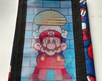 1990s super mario velcro wallet