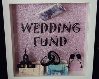 wedding fund vinyl for money box frame