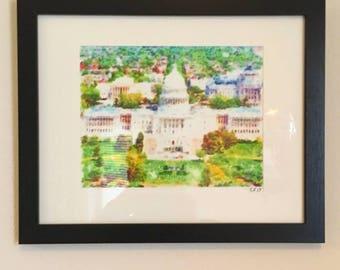 The U.S Capitol - Original