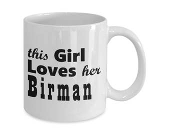 Birman - 11oz/15oz Mug - Cat Mugs Gifts - Cat Lover Gift - Cat Coffee Mug - Funny Cat Mug - Coffee Mugs - Tea Mugs - Cat Gift For Her