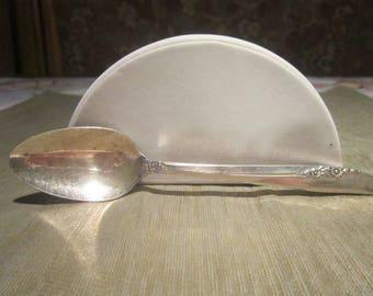 1881 Rogers Lilac Time Teaspoon Vintage 1957 Oneida LTD Spoon Silverware Flatware Replacement - SW0152