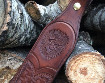 Premium Leather Rifle Sling