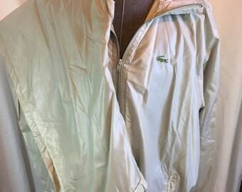 Vintage LaCoste Club Nylon Tracksuit Jacket & Pants 2XL