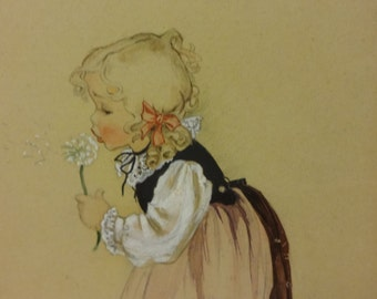 Original Art, Illustration, Children's Illustration, Original Framed Art, Original Children's Illustration, Framed Art, Nursery Art