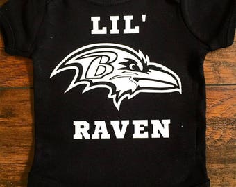 Lil' Raven Onesie