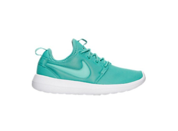 quality san francisco biggest discount Pre Order Swarovski Bling Teal Nike Roshe Two Shoes by ShopPinkIvy ...