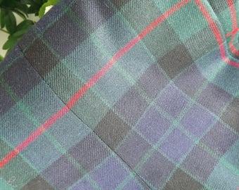 Highland Dress Outfit Mens', Vintage Scottish , Tartan Trews, Jacket, Waistcoat, Belt & Tie