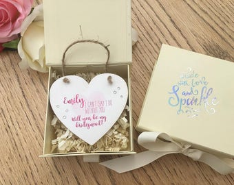 Printed Personalised Keepsake with Gift Box