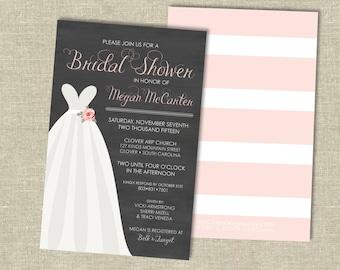 Bridal Shower Invitation Digital Download | Sweetheart