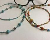 Handmade Beaded Eye Glass Chains