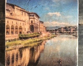 Florence Ponte Vecchio Tile