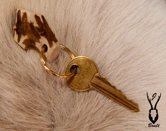 Roe Deer Antler Key Ring