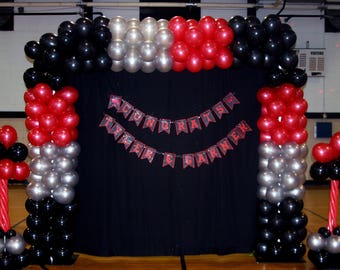 Balloon Decor only in Houston, Texas and surrounding areas