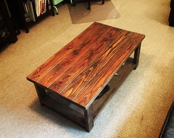 Hand Built Coffee Table